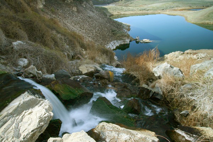 ancient lake